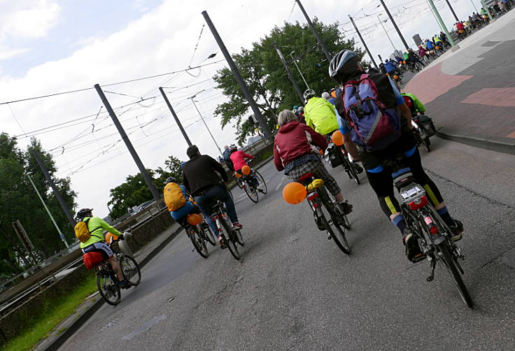 Fahrradsternfahrt Köln
