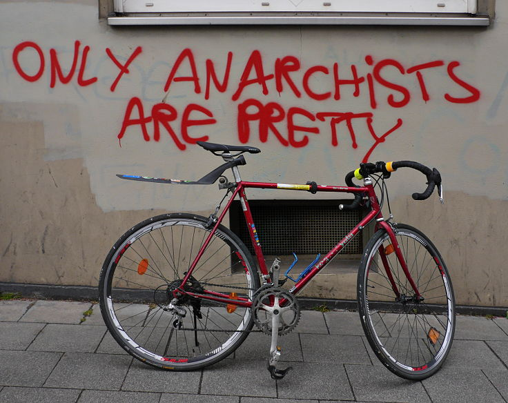 'Only anarchists are pretty'