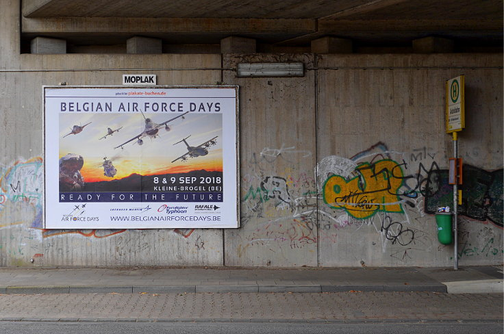 Werbeplakat: 'Belgian Air Force Days'